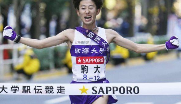 石川拓慎のマラソン画像