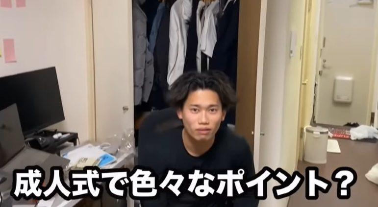 松尾光高の成人式動画