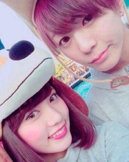 かじゅ魔と古川優香の顔写真